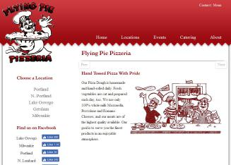 Flying+Pie+Pizzeria Website
