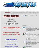 Xtreme+Paintball Website