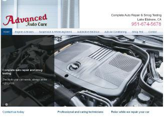 Advanced+Auto+Care Website