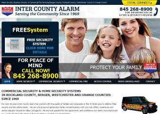 Inter+County+Alarm+Systems Website