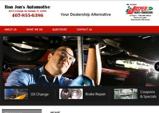 Ron-Jon%27s+Automotive+Inc Website