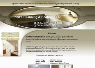 Todd%27s+Plumbing+%26+Heating+LLC Website