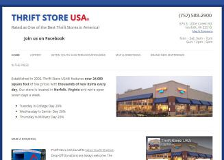 Thrift+Store+USA Website