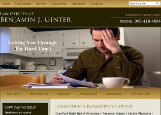 Benjamin+J+Ginter+Esq Website