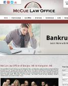 McCue+Law+Office Website