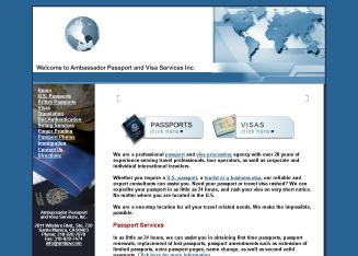 Ambassador+Passport+%26+Visa+Services Website
