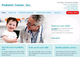Pediatric+Center+Inc Website