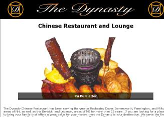 Dynasty Chinese Restaurant In Rochester Nh 24 Signal St