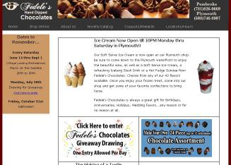 Fedele%27s+Hand-Dipped+Chocolates Website