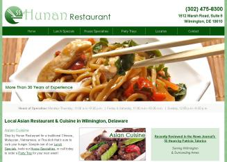 Hunan Restaurant in Wilmington, DE | 1812 Marsh Road, Branmar Plaza ...