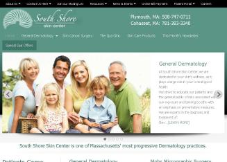 South+Shore+Skin+Center Website