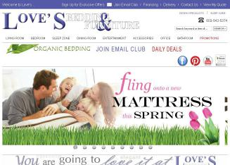 Love%27s+Bedding+%26+Furniture Website