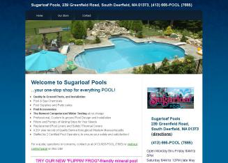 Sugarloaf+Pools Website
