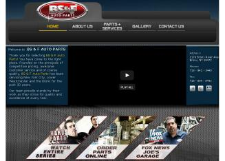 BS+%26+F+Auto+Parts+Inc Website