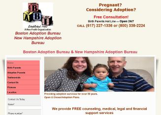A+Adoption+Bureau+Of+Boston Website