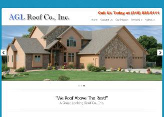 A+G+L+Roof+Company+Inc Website