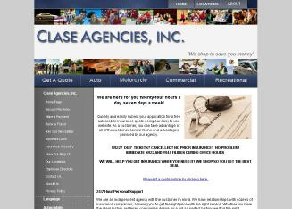Clase+Agencies+Inc. Website