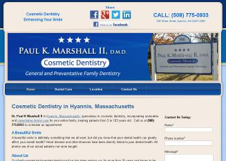 Dr.+Paul+K+Marshall+II Website
