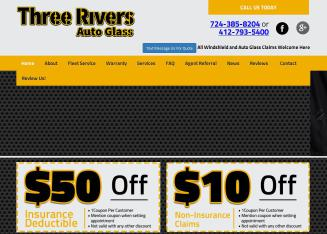 Three+Rivers+Auto+Glass Website