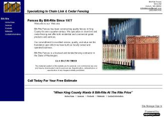 Bilt-Rite+Fences+Inc Website