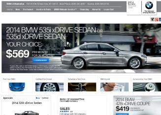 BMW+of+Manhattan Website