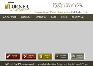 Turner+Law+Offices Website