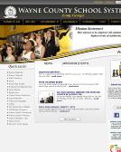 Wayne+County+School+System Website