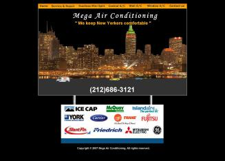 Omega+Air+Conditioning+Inc Website
