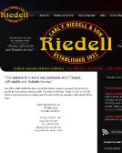 Riedell Carl F & Son Inc