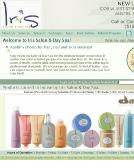 Iris+Salon Website
