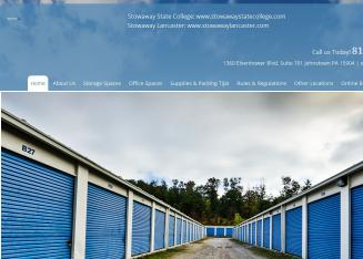 Stowaway+Self+Storage Website
