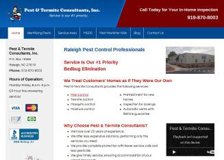 Pest & Termite Consultants Inc