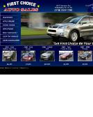 First+Choice+Auto+Sales Website
