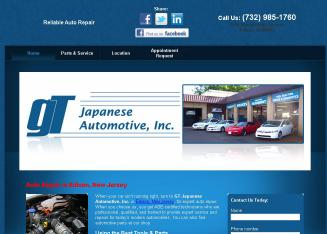 GT+Japanese+Automotive+Inc Website