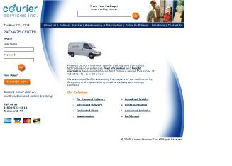 Courier+Services+Inc Website