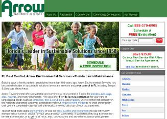 Arrow+Environmental+Services+Inc Website