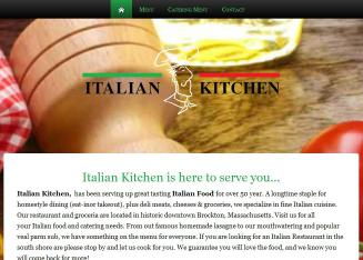 italian kitchen brockton ma