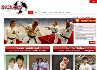 Ingram%27s+Professional+Karate+Center Website