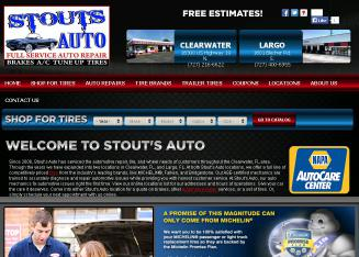 Stouts+Auto+Service Website