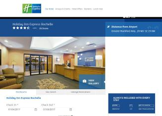 Holiday+Inn+Express+Rochelle Website