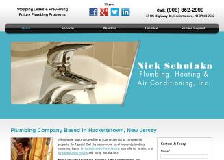 Schulaka+Nick+Plumbing+%26+Heating Website