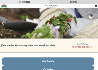 Pleasant+Ridge+Manor Website