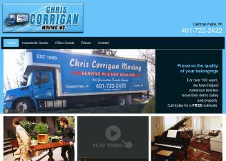 Corrigan+Chris+Moving+Inc Website