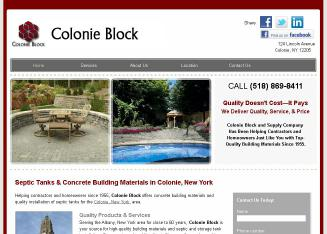Colonie Block & Supply Co. Inc