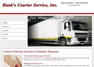 Hank%27s+Courier+Service%2C+Inc Website