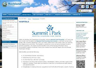 Summit+Park+Hospital+%26+Nursing Website
