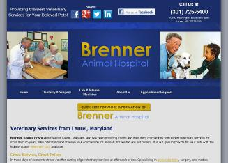 Brenner+Animal+Hospital+-+Robert+Brenner+DVM Website