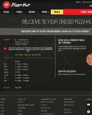 Wingstreet%2Fpizza+Hut Website