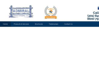 Admiral+Fence+Co.%2C+LLC Website