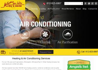 Ray+N.+Welter+Heating+Company Website